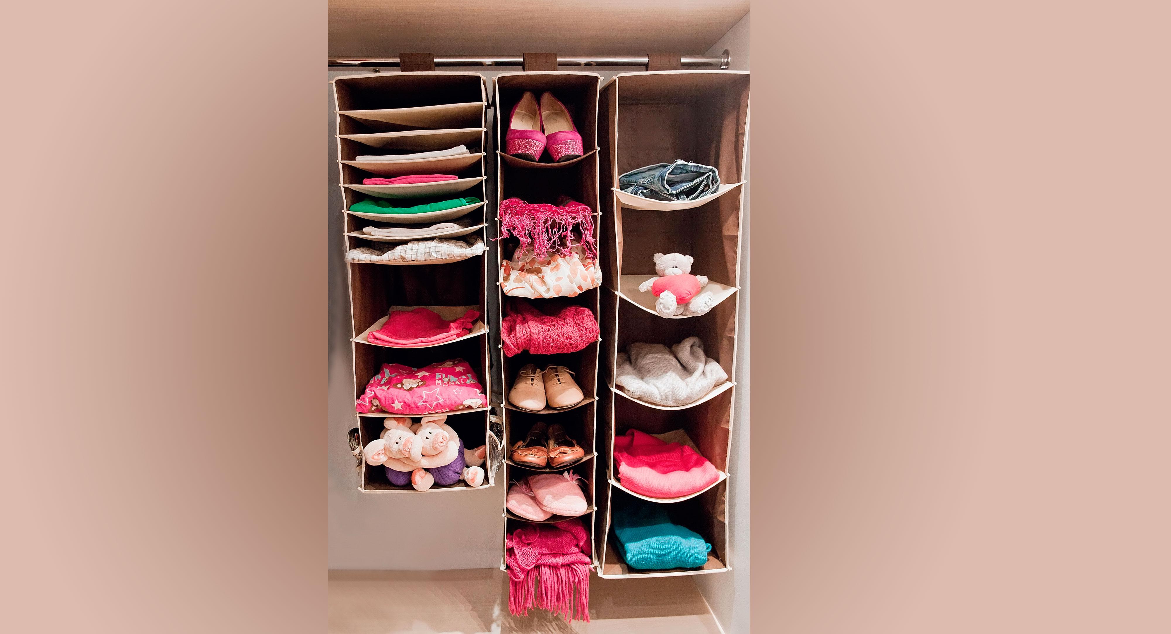 Подвесные аксессуары для хранения одежды
