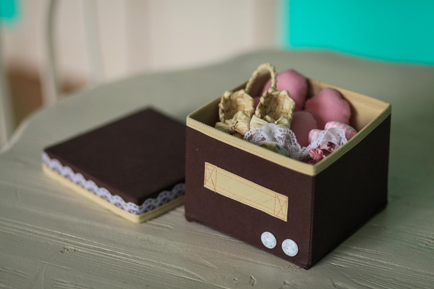 Коробка для подарка женщине