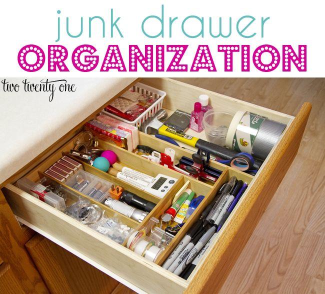 10 Tips For Perfectly Organized Kitchen Drawers The: 10 привычек для чистого дома