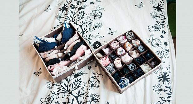 Купить коробки, органайзеры для нижнего белья - Enredo